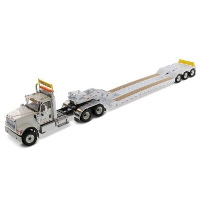 Diecast Masters International HX520 Tandem Tractor with XL120 Low-Profile HDG Trailer (White)